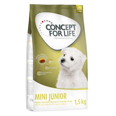 concept for life mini junior g nstig bestellen zooplus. Black Bedroom Furniture Sets. Home Design Ideas