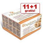 11 + 1 gratis! 12 x 70 g Applaws Multipack