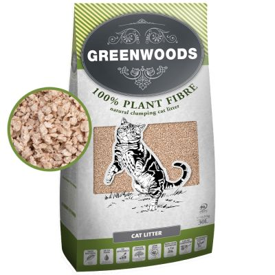 Greenwoods Plant Fibre Άμμος οικονομικά στη zooplus