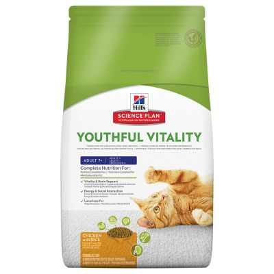Hill's Feline 7+ Youthful Vitality Pollo & Riso