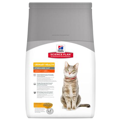 Hill's Science Plan Adult Urinary Health Sterilised Cat Pollo