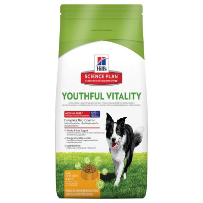 Hill's Science Plan Adult 7+ Youthful Vitality Medium mit Huhn