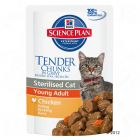 Hill's Science Plan Young Adult Sterilised 12 x 85 g pour chat