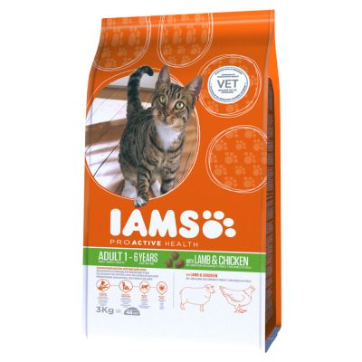 Iams Proactive Health Adult Cat With Lamb Amp Chicken Dry