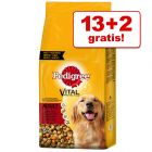 13 + 2 kg gratis! 15 kg Pedigree Vital Protection