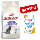 4 kg Royal Canin + Animonda Milkies Harmony - Anti Hairball, 30 g gratis!