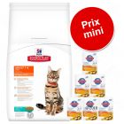 Lot mixte Hill's Science Plan Adult 1-6 Optimal Care pour chat