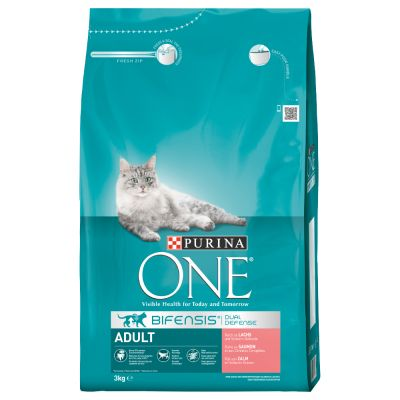 Purina ONE Adult Salmone & Cereali integrali