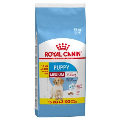 royal canin medium puppy croquettes chiot discount bitiba. Black Bedroom Furniture Sets. Home Design Ideas