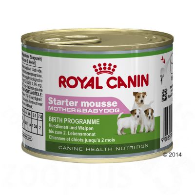 Royal Canin Starter Mousse Mother & Babydog Hondenvoer