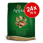 Set Risparmio! Applaws Buste Naturale 24 x 70 g