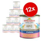 Sparpaket Almo Nature HFC 12 x  280 g / 290 g
