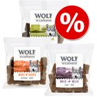 Sparpaket Wolf of Wilderness Snack - Wolfshappen 3 x 180 g