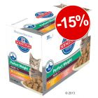 - 15 % sur les sachets Hill's Science Plan Light ou Perfect Weight 12 x 85 g