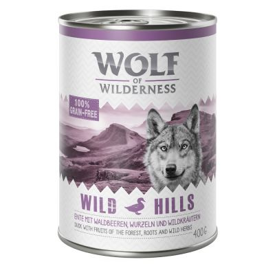 Wolf Of Wilderness Adult Mixed Pack 4 Varieties Wet Dog