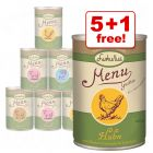 6 x 400g Lukullus Menu Gustico Mixed Trial Pack - 5 + 1 Free!*