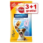 3 + 1 gratis! 4 pakker Pedigree Dentastix eller Dentaflex