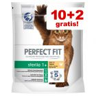 10 + 2 gratis! 12 x 85 g Perfect Fit