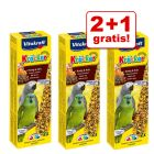 2 + 1 gratis! 3 x 2 Sticks Vitakraft Kräcker Papagei
