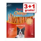 3 + 1 gratis! 4 x Rocco Chings tyggestrips