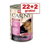 22 + 2 gratis! Animonda Carny Adult 24 x 400 g