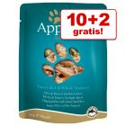 10 + 2 gratis! Applaws porsjonsposer 12 x 70 g