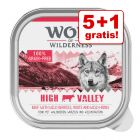 5 + 1 gratis! Wolf of Wilderness Adult 6 x 300 g