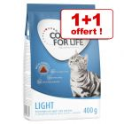 1 + 1 offert ! 2 x 400 g Concept for Life Light Adult
