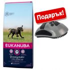15 кг Eukanuba + подарък FURminator Curry Comb!