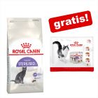 4 kg / 10 kg Royal Canin + 4 x 85 g Royal Canin Nassfutter gratis!