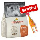 2 kg Almo Nature Holistic Small + Pollo in lattice gratis!