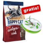 10 kg Happy Cat + Gioco Round About gratis!