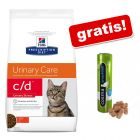5/8 kg Hill's Prescription Diet Feline + Cosma Original Snackies, kaczka gratis!