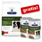 12 kg Hill's Prescription Diet Metabolic Weight Management + 2 x 354 g gratis