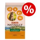 2,7 kg IAMS Naturally Cat Adult zum Sonderpreis!