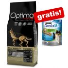 12 kg Optimanova Hondenvoer + Dentalife Medium snack gratis!