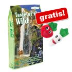 7 kg Taste of the Wild + 2 Katteleke Catnip Veggies gratis!