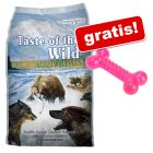 13 kg Taste of the Wild + Osso gioco in TPR gratis!