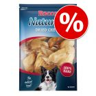 10 Rocco Natural Dried Cows' Ears Dog Chews - Special Price!*