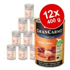 12 x 400 g Animonda GranCarno Original Adult
