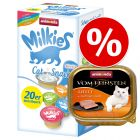 32 x 100 g Animonda vom Feinsten + 20 x 15 g Milkies