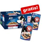 44 x 100 g Felix Fantastic + 2 x 40 g Felix Mini Filetti gratis!