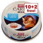 12 x 80g Animonda Carny Ocean Wet Cat Food - 10 + 2 Free!*