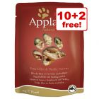 12 x 70g Applaws Wet Cat Food Pouches - 10 + 2 Free!*