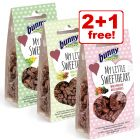 3 x 30g Bunny My Little Sweetheart Snacks - 2 + 1 Free!*