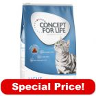 3 x 400g Concept for Life Dry Cat Food - Special Price!*
