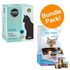 24 x 40g Cosma Soups Cat Food + My Star Milky Cups - Special Bundle Price!*