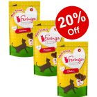 3 x 35g Feringa Meat Cat Snacks - 20% Off!*