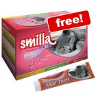 24 x 85g Smilla Adult Sterilised Mixed Pack + 50g Smilla Malt Paste Free!*