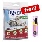 2 x 12kg Tigerino Canada Cat Litter + 30g Cosma Snackies XXL Chicken Free!*